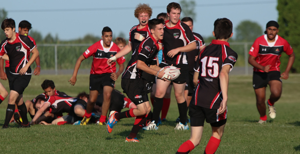 Ottawa Indians Rugby U16 in-game play image 3
