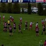 Ottawa Indians RFC vs. Club de rugby de Quebec – May 2011