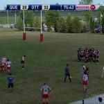 Ottawa Indians RFC vs. Club de rugby de Quebec