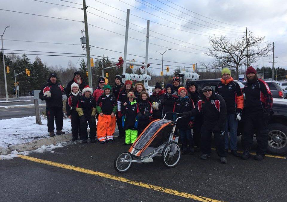 Ottawa Indians Participate in Kanata Santa Claus Parade