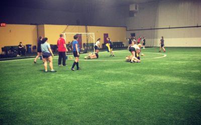 Junior & Senior Indoor Training Continues