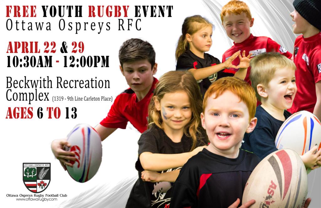 Free Try Rugby Days 2018 Ottawa Ospreys