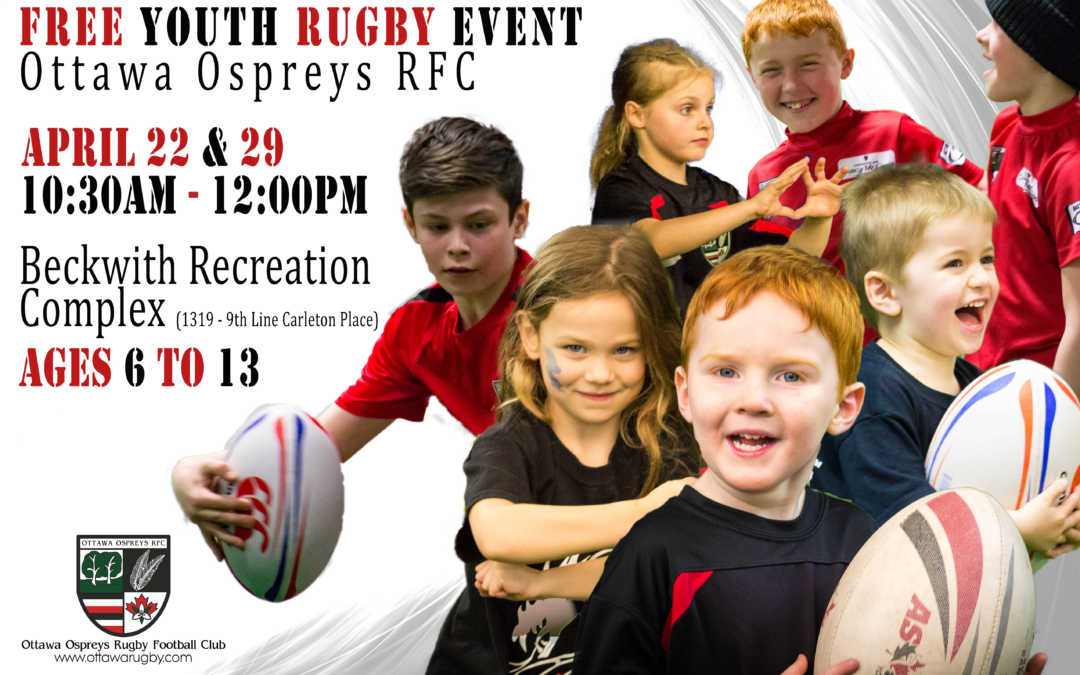 """Free """"TRY RUGBY"""" Event"""