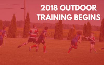 Ottawa Ospreys Outdoor Training Starts May 15, 2018