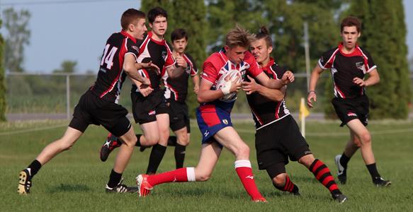 Ottawa Ospreys Rugby U16 in-game play image 1