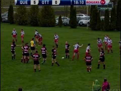Ottawa Ospreys RFC vs. Club de rugby de Quebec – May 2011