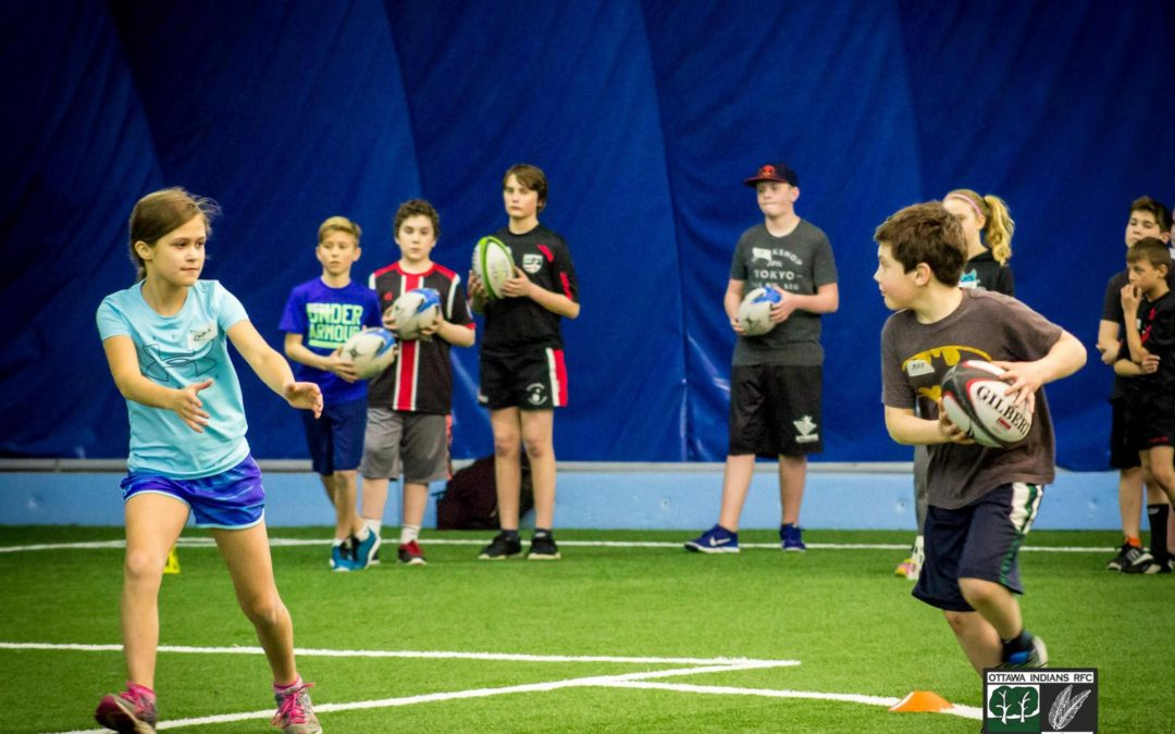 """Try Rugby"" Minis Indoor Training Program"
