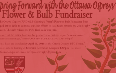 Vesey's Flower & Bulb Fundraiser in Support of OORFC