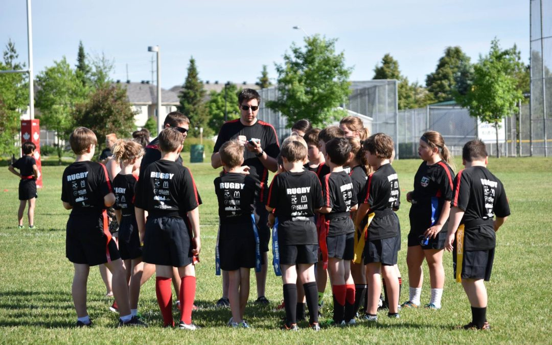 U11 Ottawa Ospreys at Barrhaven Scottish Minors Festival