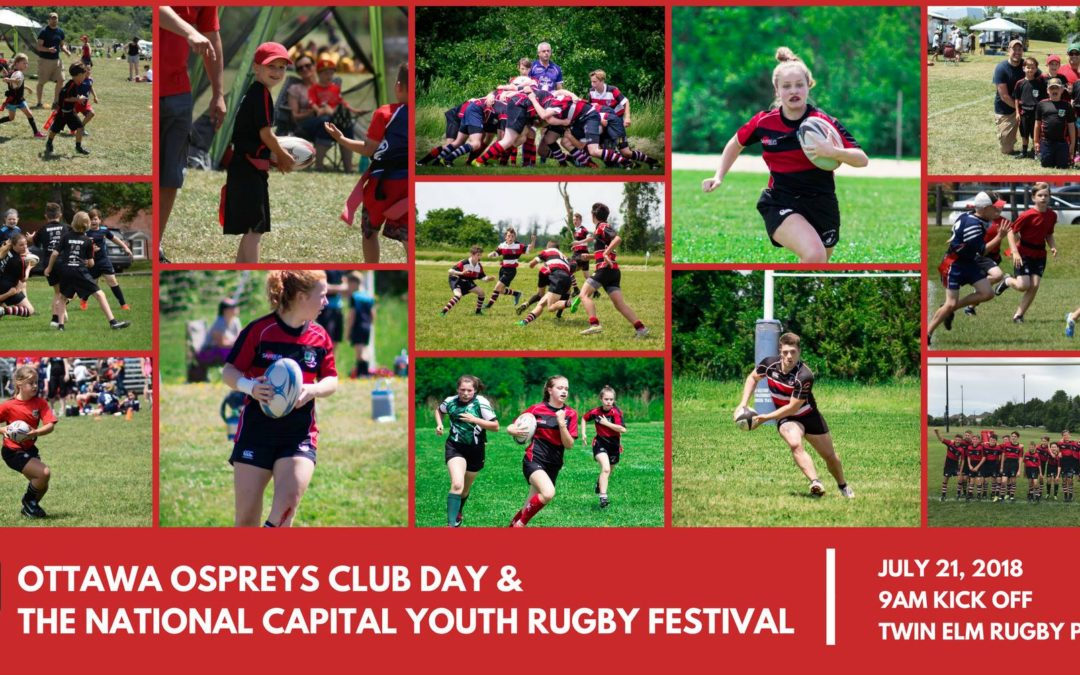 Ottawa Ospreys 2018 Club Day & NCYRF