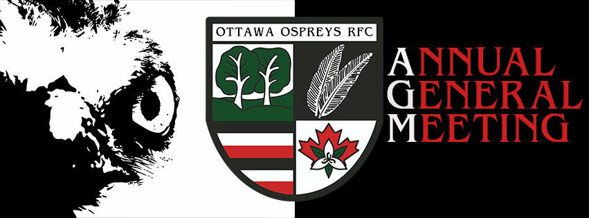 Ottawa Ospreys RFC – Annual General Meeting